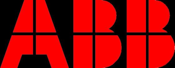 Abb Logo Glas Pendel Lampe